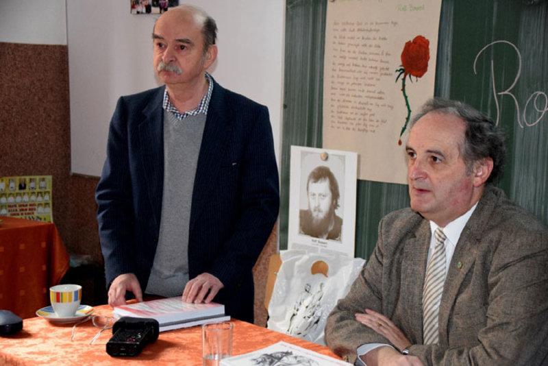 Adz Online Einweihung Des Rolf Bossert Saals In Reschitza